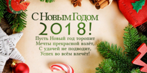 С Новым 2018 годом!